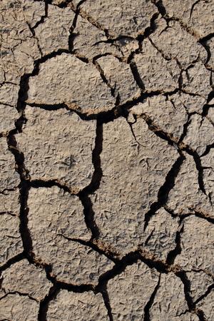 el: Dry soil - El Nino impact - Africa Stock Photo