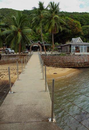 accomodation: Coco-de-Mer Hotel Praslin Island Seychelles Editorial