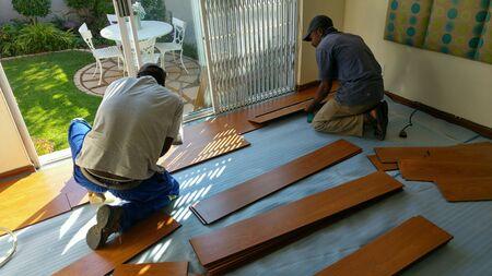 Carpenters montage laminaatvloer