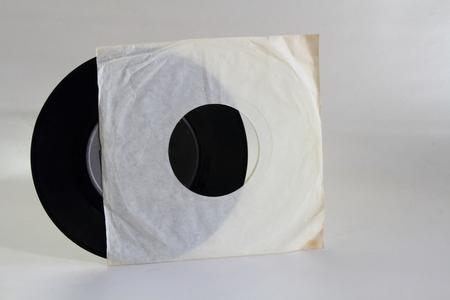 yesteryear: Retro - a seven single record Stock Photo