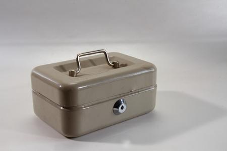 locked: A locked cash box
