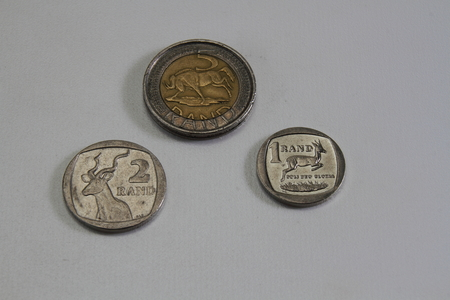 rand: South African rand denominated coins