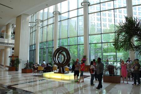 lodgings: Main foyer - Regent Hotel Beijing China