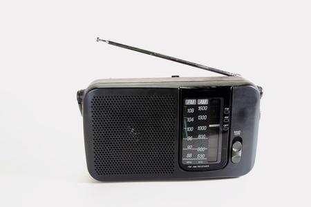 transistor: A retro transistor radio Stock Photo