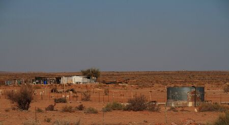 subsistence: Subsistence farming Namaqualand Northern Cape Province South Africa