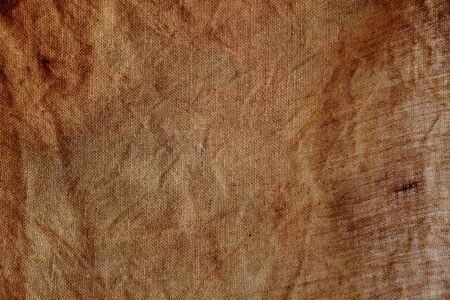 hessian: A hessian sack brown background Stock Photo