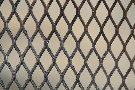 grid pattern: Metal grid pattern