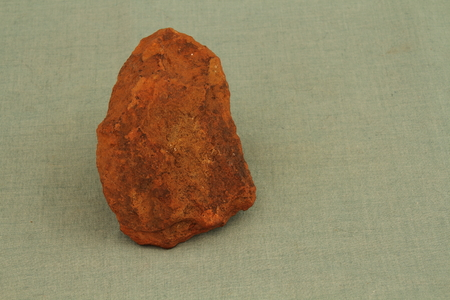 stoneage: A stone shaped like an ax used by primitive tribes in Africa as a tool
