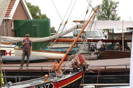 hoorn: Sailing lifestyle Hoorn Netherlands Editorial