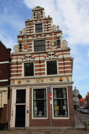 Historic building Enkhuizen the Netherlands Editorial