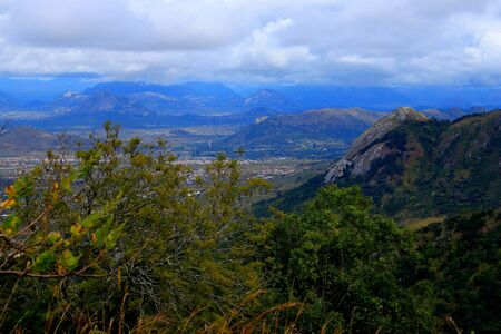 View of the Eastern Highlands of Zimbabwe from Cecilkop outside the town of Mutare.