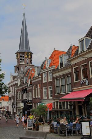 Lifestyle and travel Hoorn the Netherlands Editorial