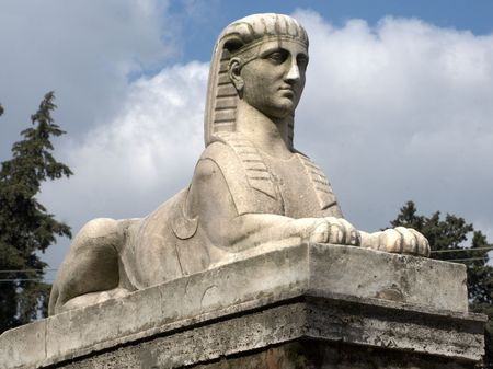Egyptian Sculpture, People  Square, Rome