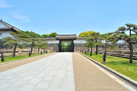 osaka castle: Osaka Castle gate Editorial