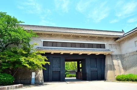 osaka castle: Osaka Castle ruins Editorial