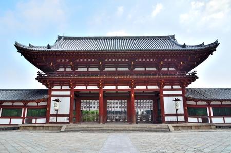 todaiji: NARA todaiji Temple inner gate Editorial