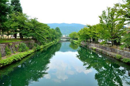 Kyoto Biwako Canal 스톡 콘텐츠
