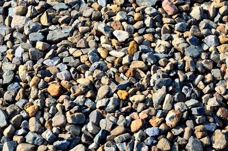 shore: Pebbles on the shore of Lake Biwa Stock Photo