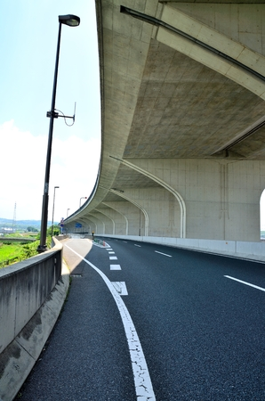 bypass: National Highway No. 1 line bypass Stock Photo