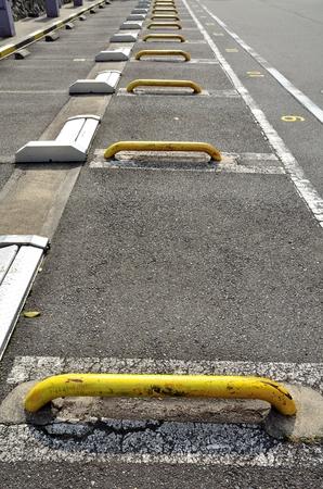 parking facilities: Parking Stock Photo