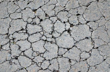 Asphalt crack