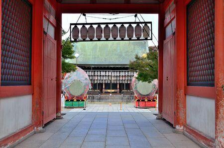 Yasaka Shrine in Kyoto Редакционное
