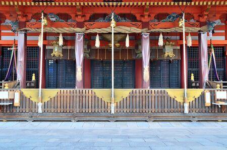 Kyoto Yasaka Shrine Редакционное