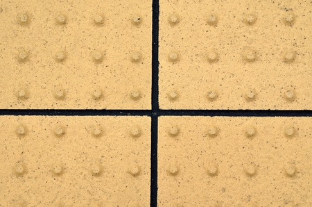 tactile: Tactile floor blocks