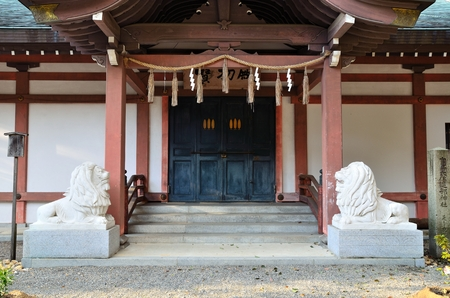 tout: Takebe Taisha Shrine treasure house
