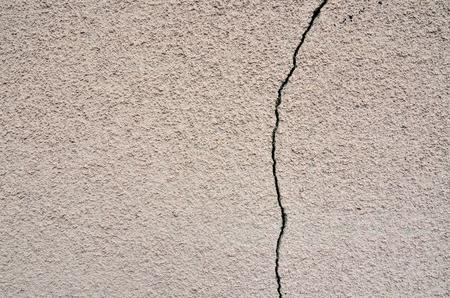 degradation: Cracked wall