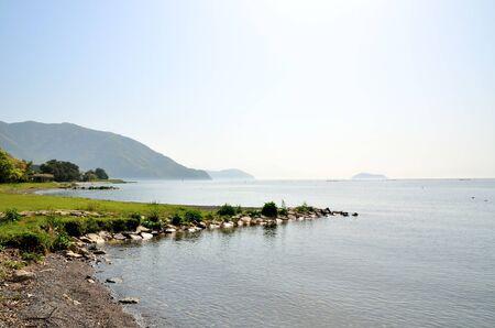 Lake Biwa Stock Photo