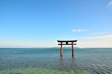 Lake Biwa Stock Photo