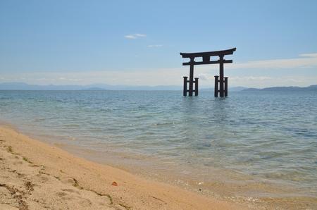 Lake Biwa Lake Torii