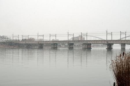 겨울의 세타 강
