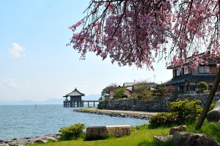 Lake Biwa Lakeside Stok Fotoğraf - 86103521
