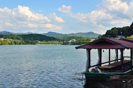 Seta River of Shiga Stok Fotoğraf - 96069324