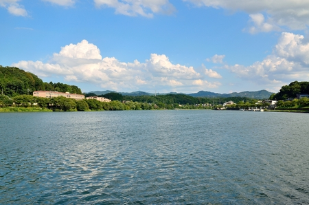 Seta River of Shiga Stok Fotoğraf - 96069327
