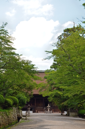 Mii Temple of Shiga 写真素材 - 96092885