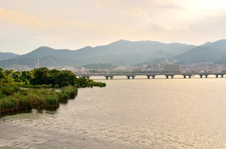 Lake Biwa Stok Fotoğraf - 96071247