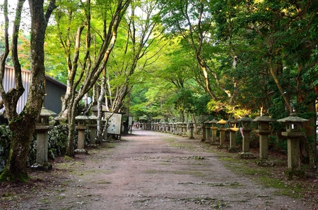 ATAGO shrine in Kyoto 写真素材 - 122824498