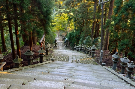 ATAGO shrine in Kyoto