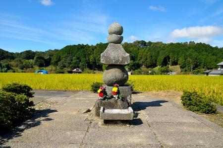 Asuka village in Nara Prefecture 版權商用圖片