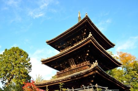 Kyoto komyoji Temple 免版税图像