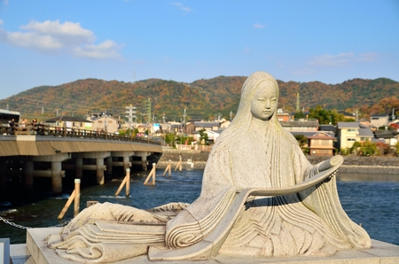 Murasaki Shikibu of the Uji River