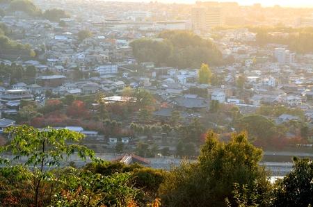 Uji City landscape