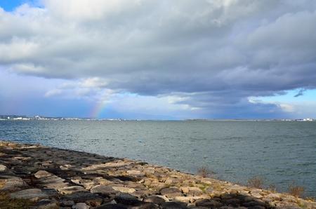 Rainbow of Lake Biwa
