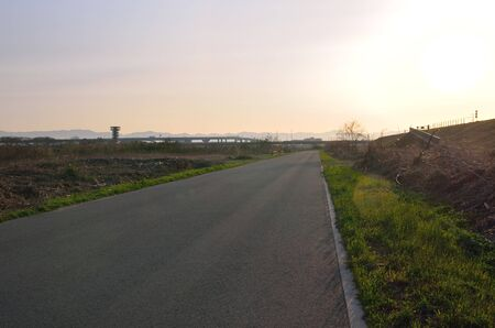 The Road along the Yodo River, Kyoto Prefecture