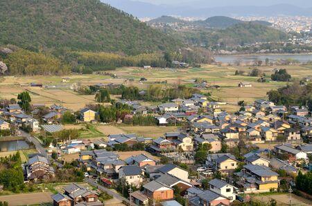 Urban Landscape in Right Kyo-ku, Kyoto