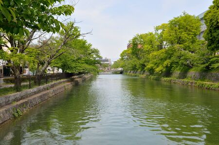 Lake Biwa Canal in Kyoto