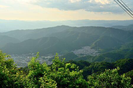 Scenery from Mt. Otowa in Shiga